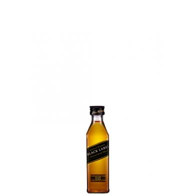 Johnnie Walker Black Label 12 Y.O. MINI 0,05l 40%