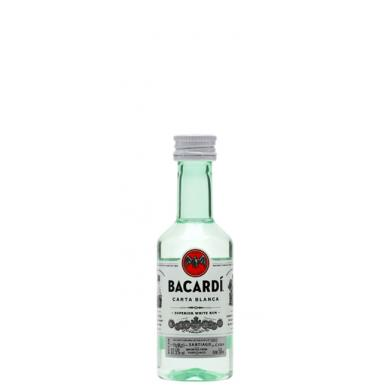 Bacardi Carta Blanca MINI 0,05l 37,5%