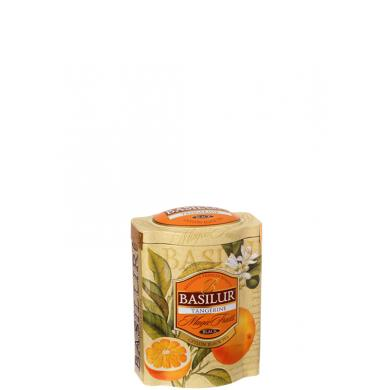 Basilur Magic Fruits Tangerine 100g v plechovej dóze