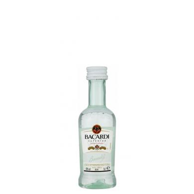 Bacardi Carta Blanca MINI 0,05l 40%