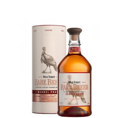 Wild Turkey Rare Breed Barrel Proof 0,7l 58,4% + tuba