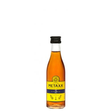 Metaxa 5* MINI 0,05l 38%