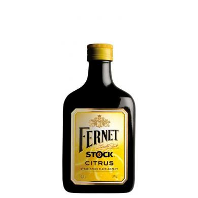 Fernet Stock Citrus 0,2l 27%