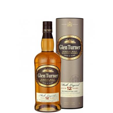 Glen Turner Malt Legend 12 Y.O. 0,7l 40% + tuba