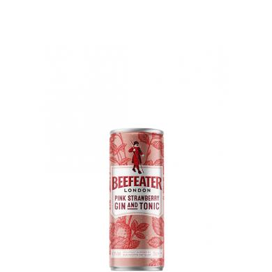 Beefeater Pink Strawberry Gin and Tonic 0,25l 4,9%