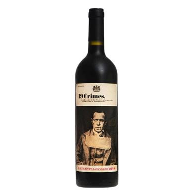 19 Crimes Wines Cabernet Sauvignon 0,75l 13,5%