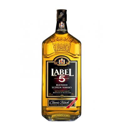 Label 5 Blended Scotch Whisky 1,5l 40%