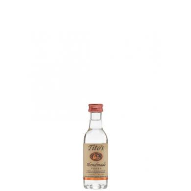 Tito's Handmade Vodka MINI 0,05l 40%