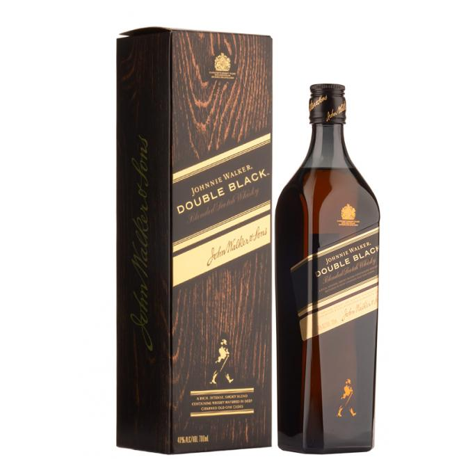 Johnnie Walker Double Black Label 0,7l 40% + kartón