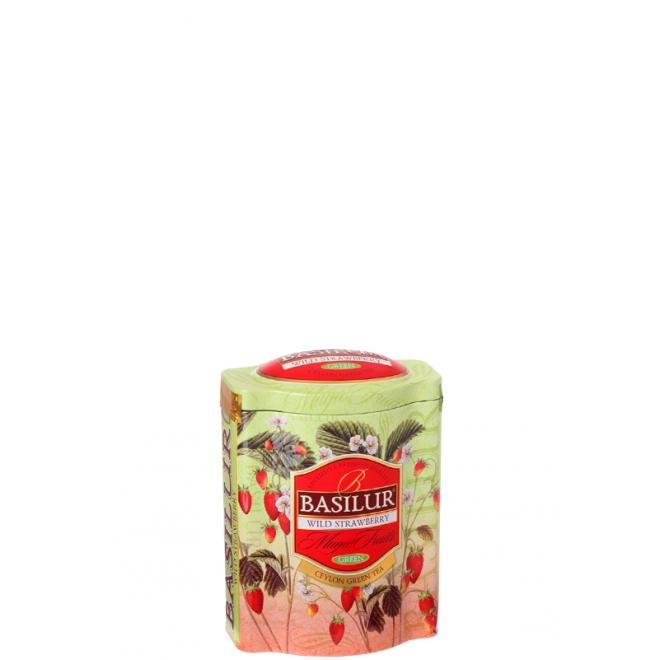 Basilur Magic Fruits Wild Strawberry 100g v plechovej dóze